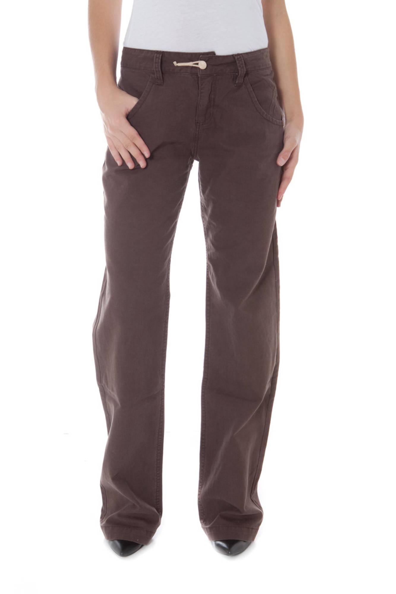 Kalhoty PHARD kalhoty MARRONE