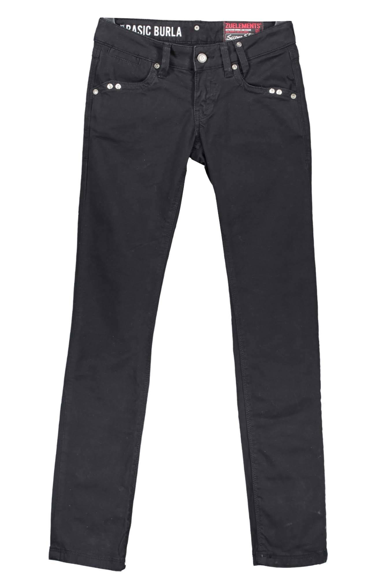 Kalhoty ZUELEMENTS kalhoty NERO