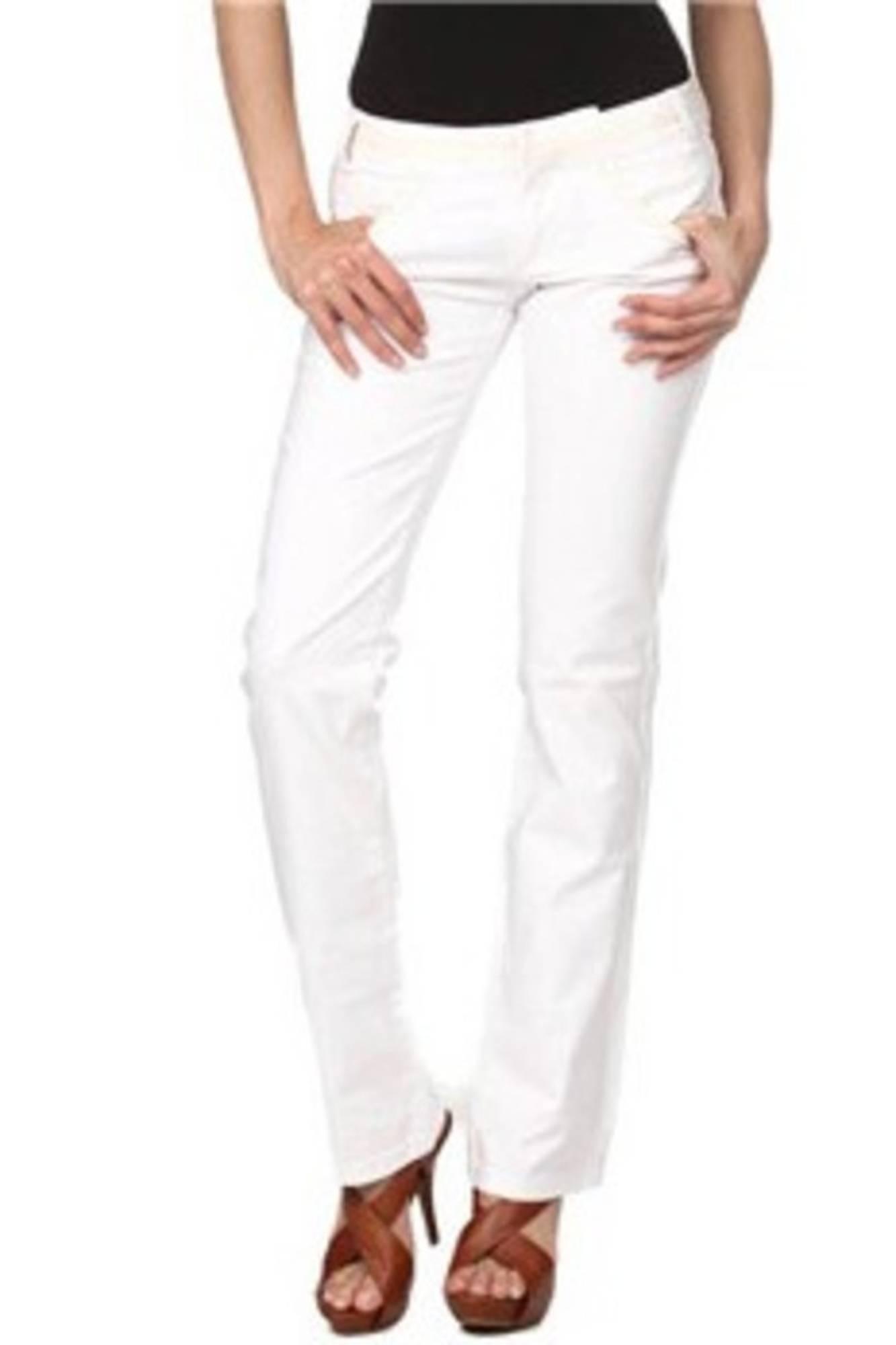 Kalhoty PHARD kalhoty BIANCO