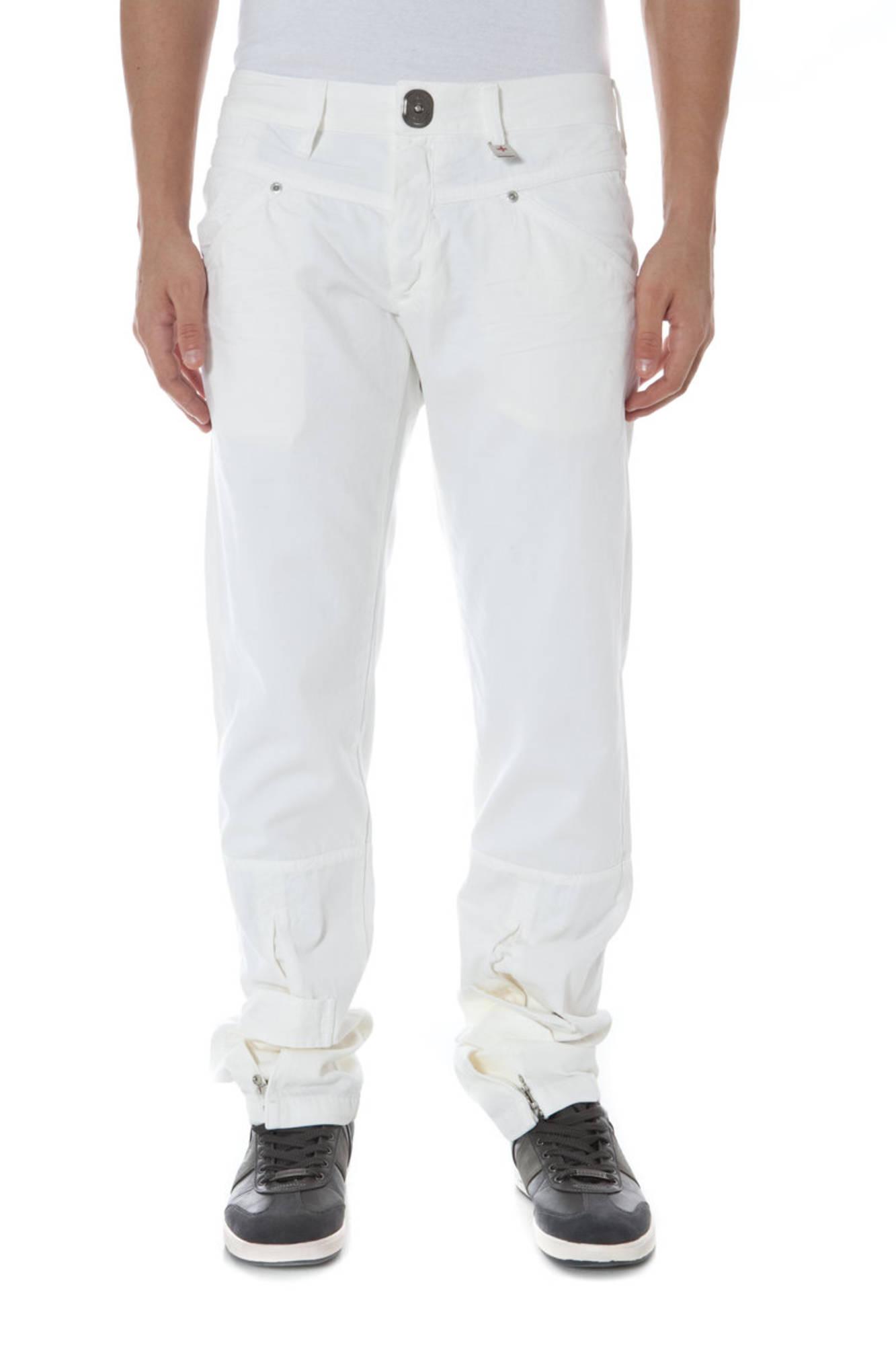 Kalhoty ZUELEMENTS kalhoty BIANCO