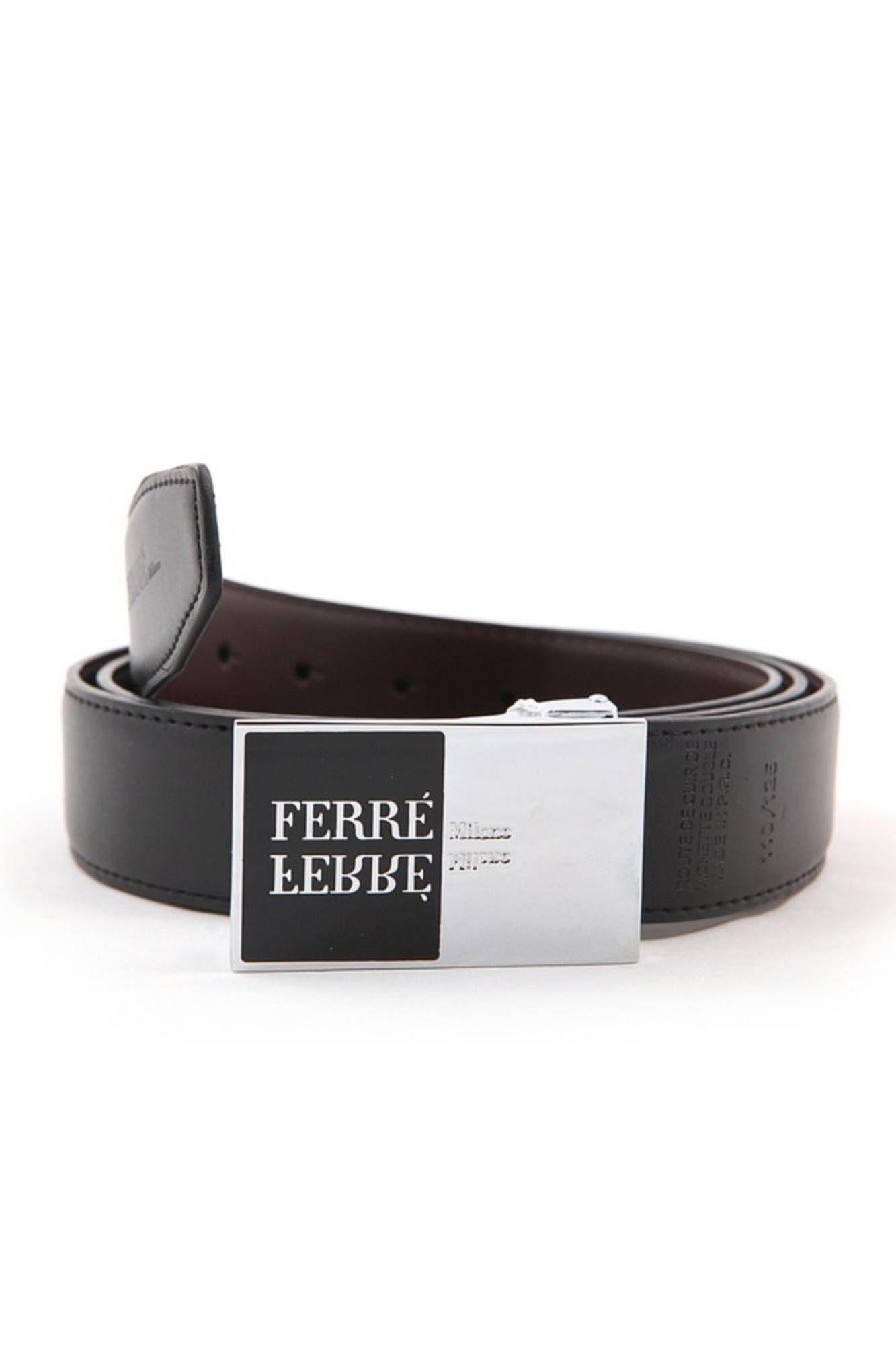 GIANFRANCO FERRÈ pásek NERO