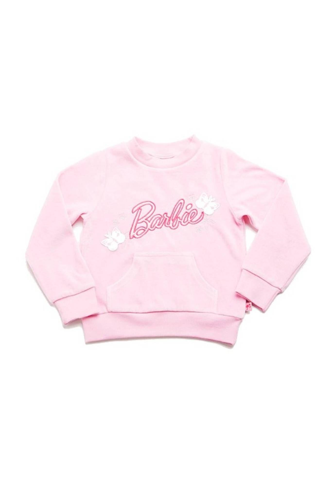 BARBIE Sweatshirt with no zip ROSA