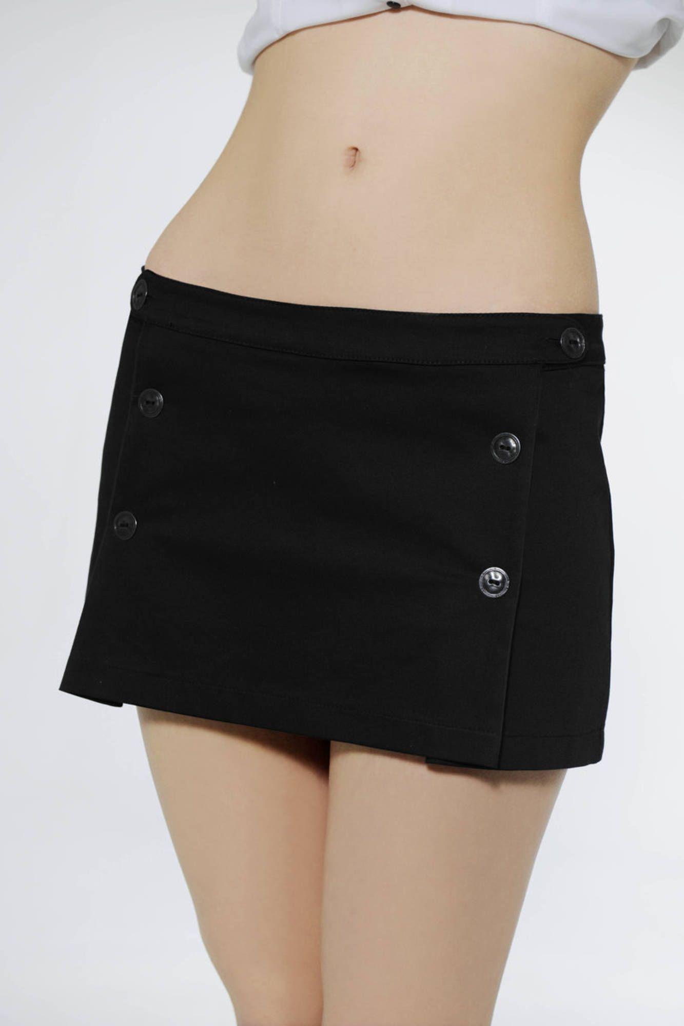 Sukně RHUMANDCHOCOLATE sukně NERO