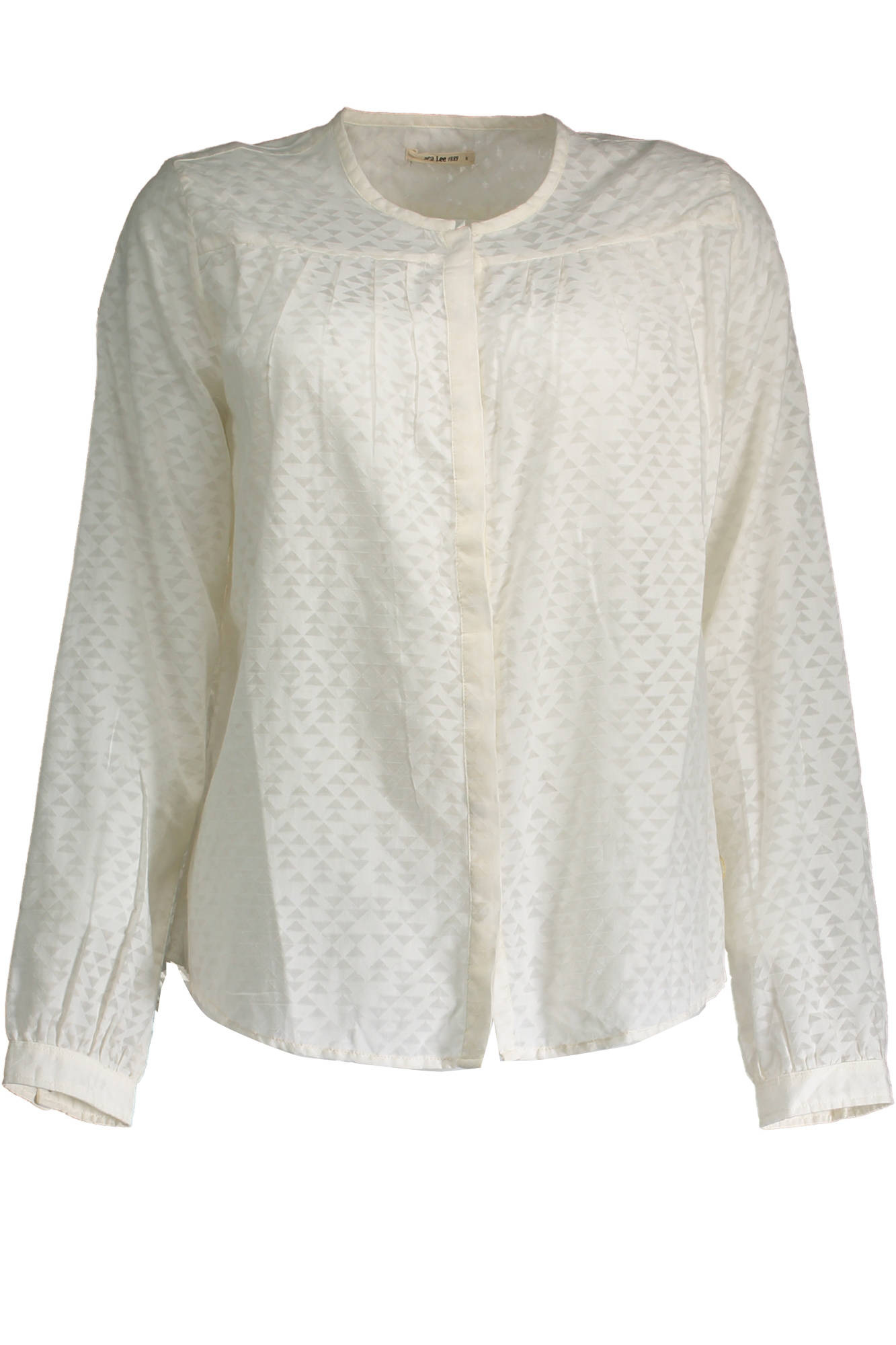 Košile LEE košile s dlouhým rukávem BIANCO