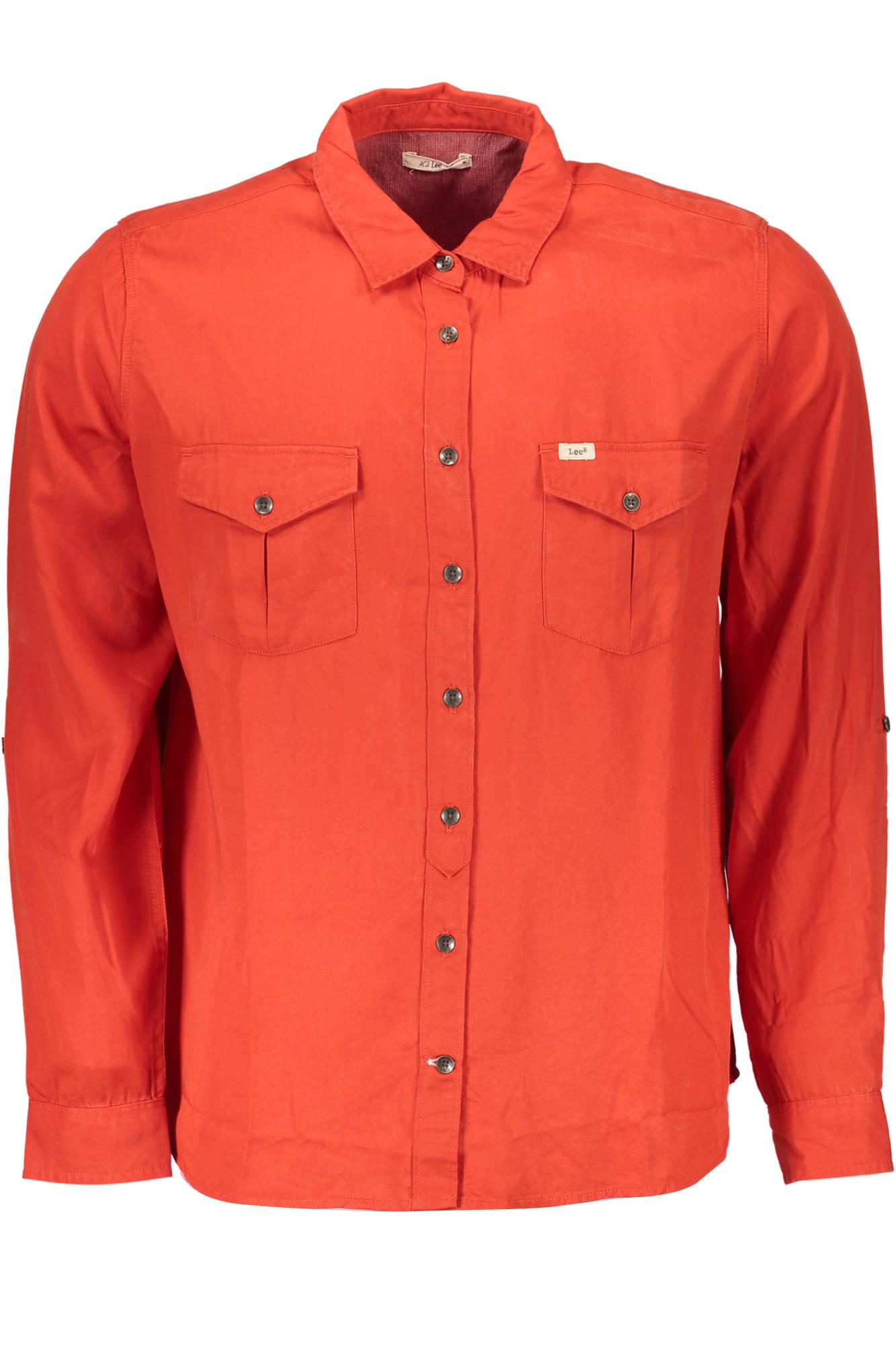 Košile LEE košile s dlouhým rukávem ROSSO