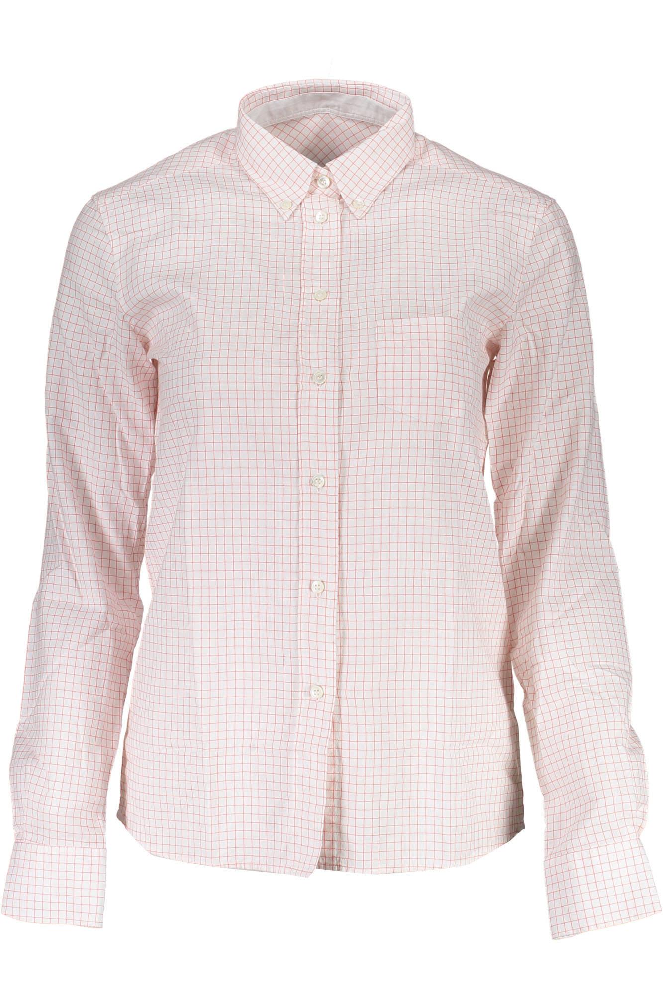Košile GANT košile s dlouhým rukávem ROSSO