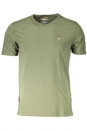 Aeronautica militare t-shirt esternabile verde