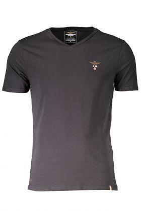 Aeronautica militare t-shirt esternabile nero