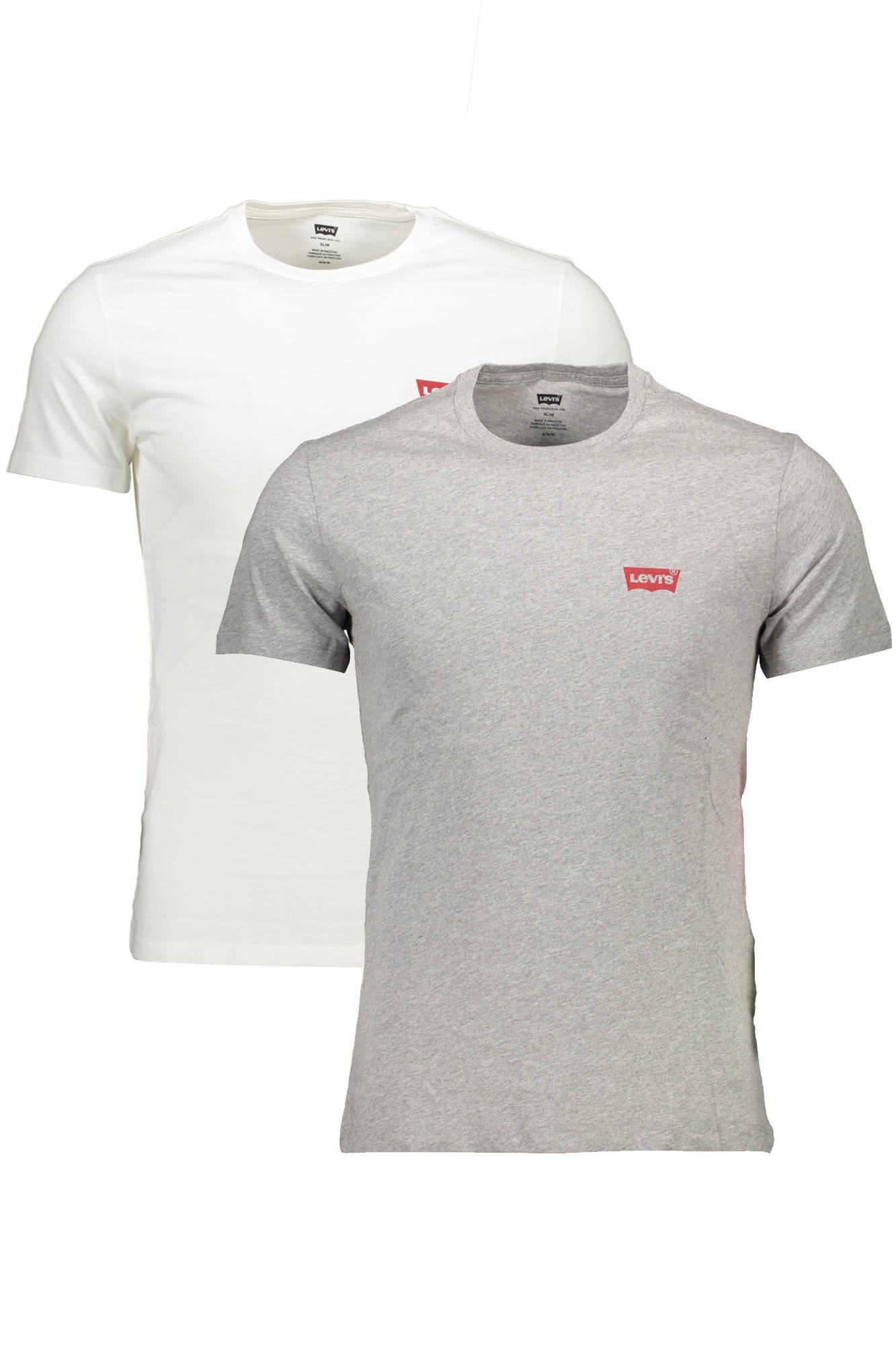 Tričko LEVI'S tričko s krátkým rukávem BIANCO