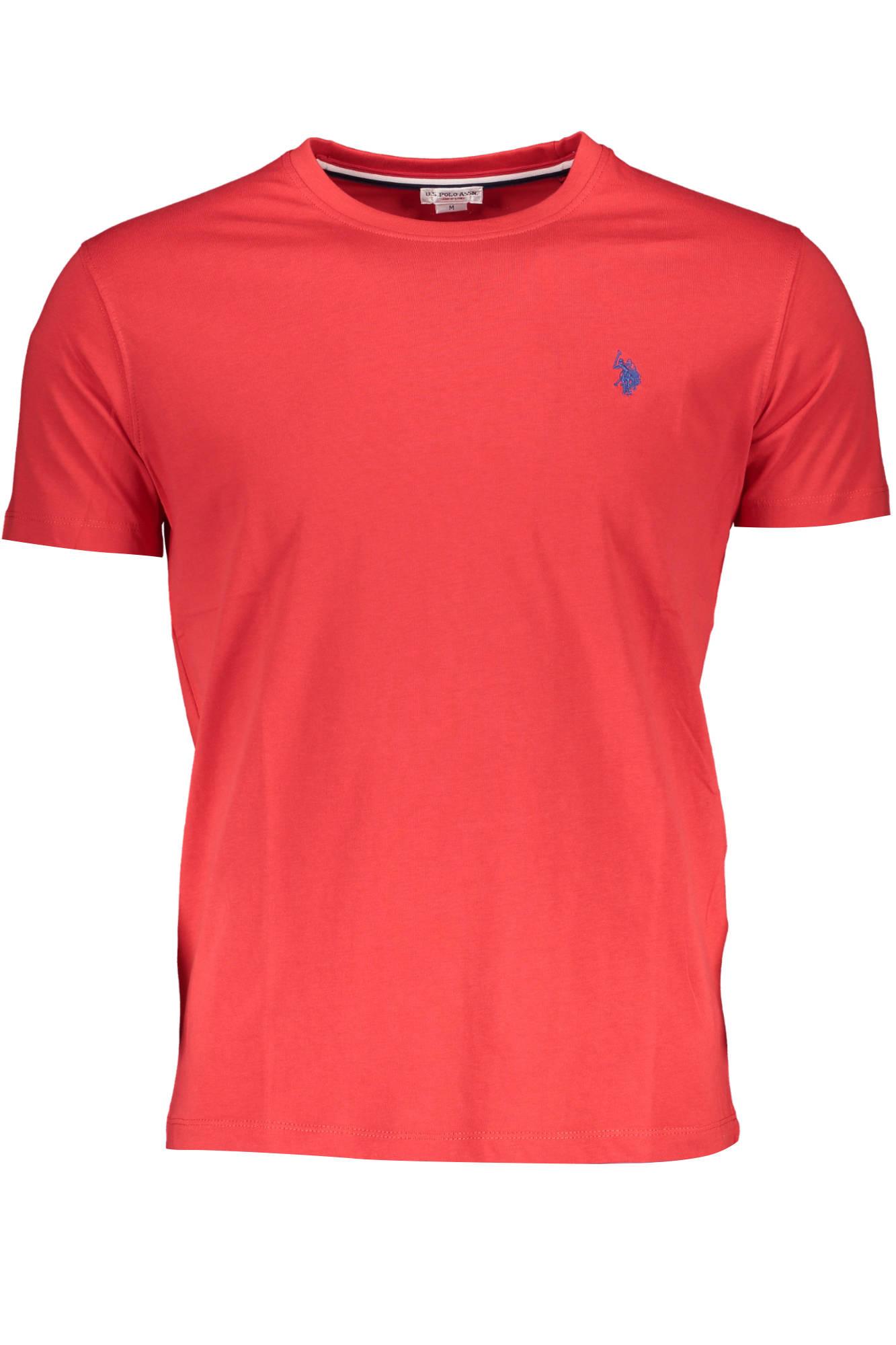 Tričko U.S. POLO tričko s krátkým rukávem ROSSO