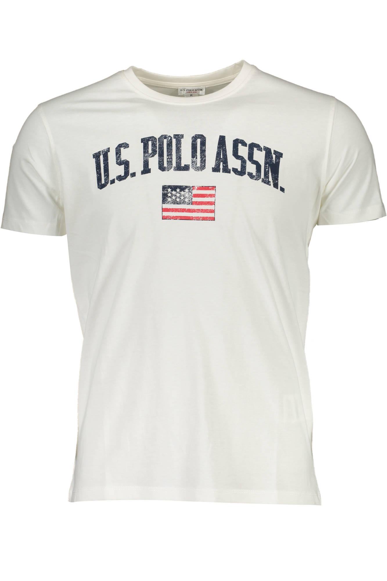 Tričko U.S. POLO tričko s krátkým rukávem BIANCO