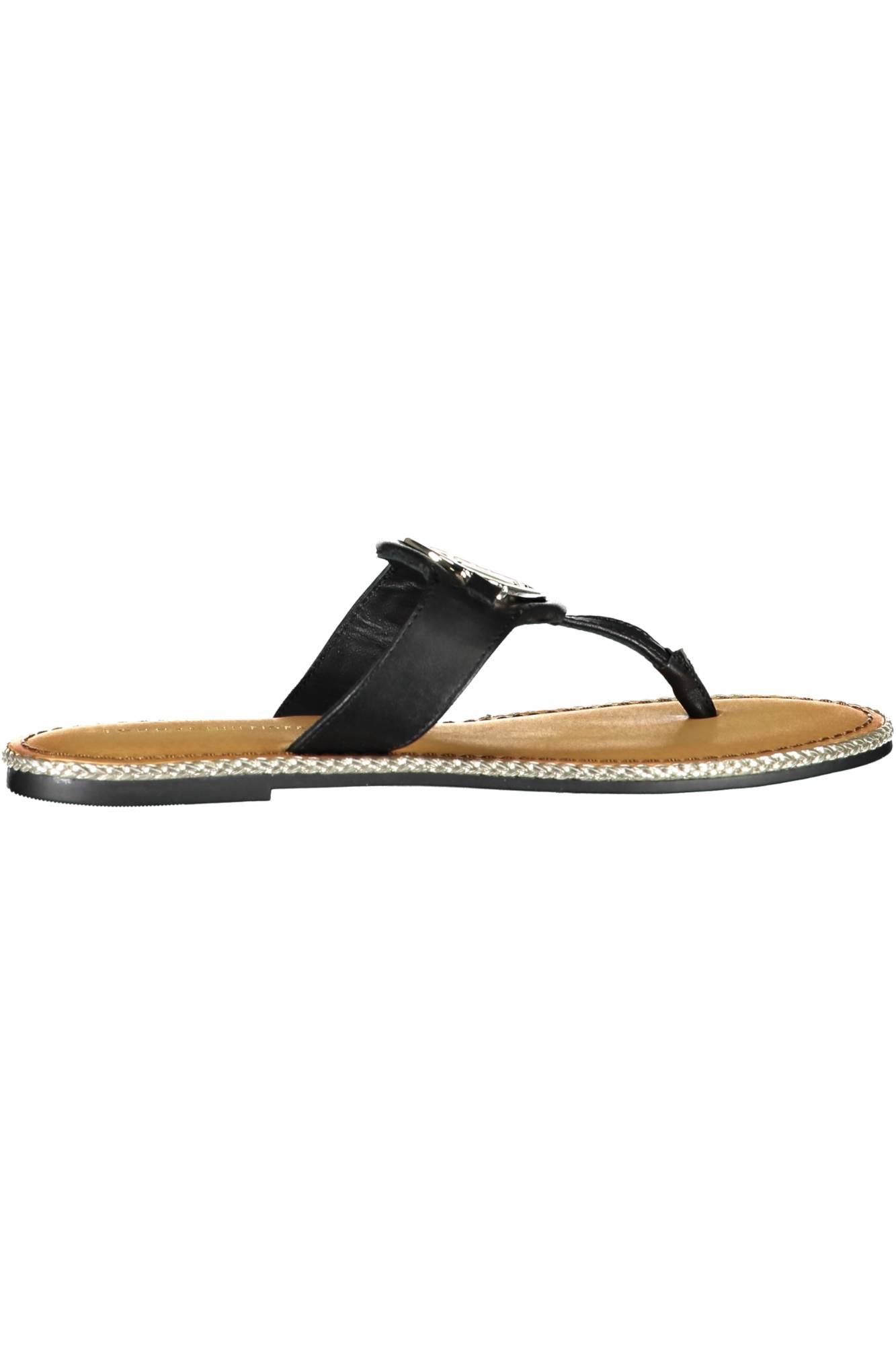 TOMMY HILFIGER sandály NERO