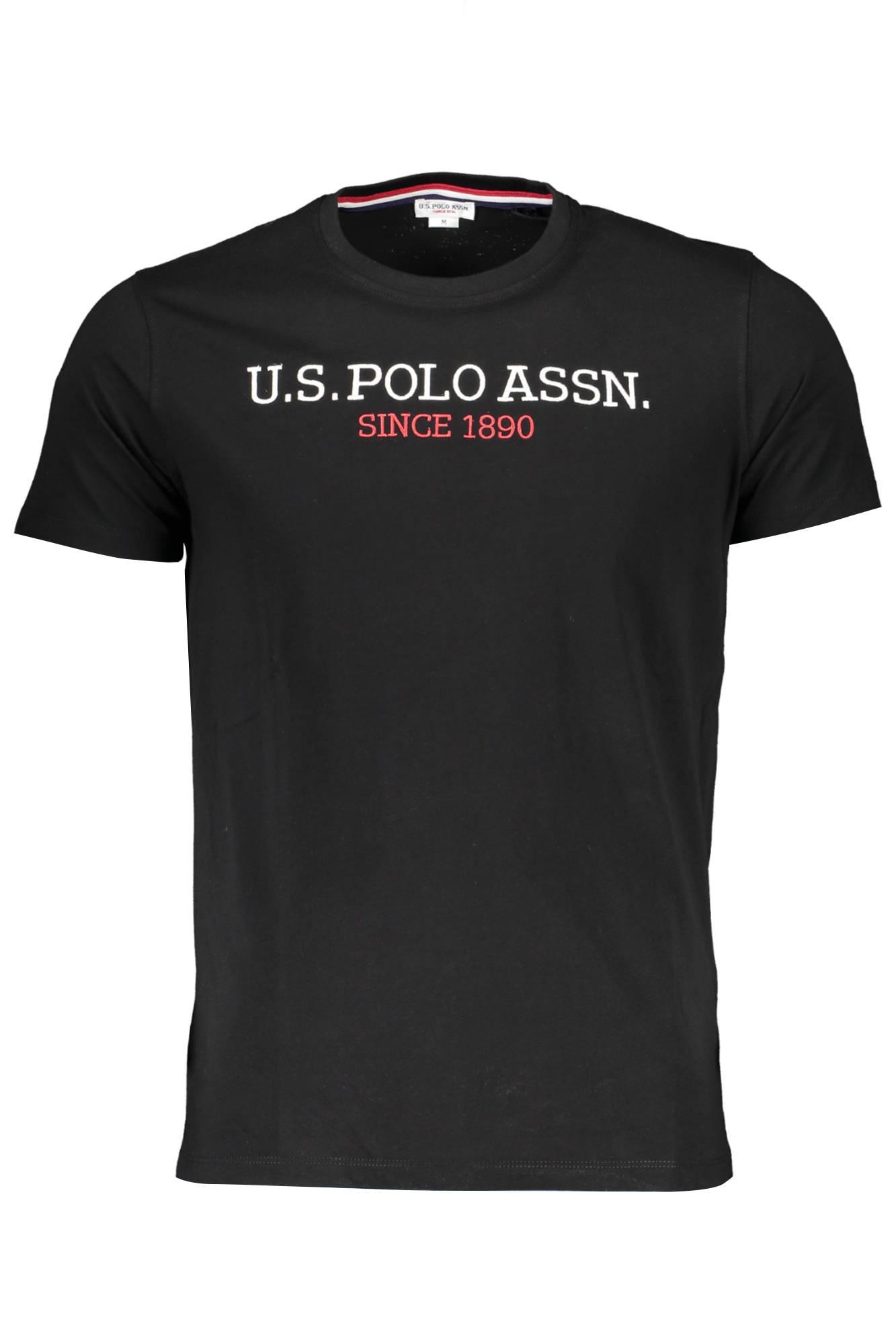 Tričko U.S. POLO tričko s krátkým rukávem NERO