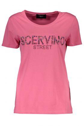 Scervino street t-shirt maniche corte rosa