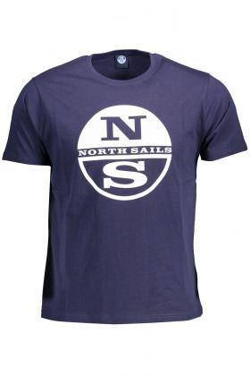 North sails t-shirt maniche corte blu