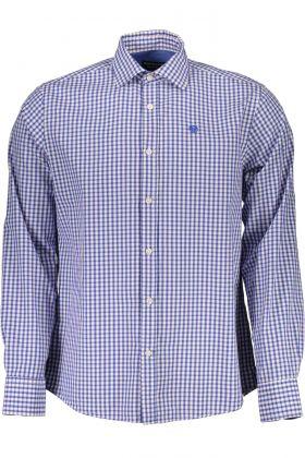 North sails camicia maniche lunghe blu