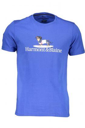 Harmont & blaine t-shirt maniche corte blu