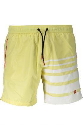 Karl lagerfeld beachwear costume parte sotto giallo