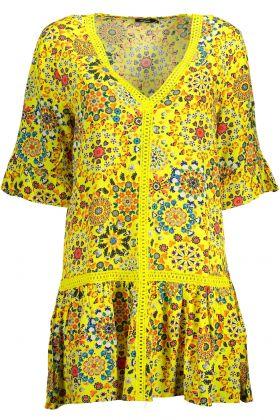 Desigual abito corto giallo