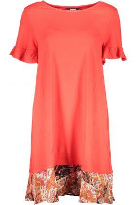 Desigual abito corto rosso