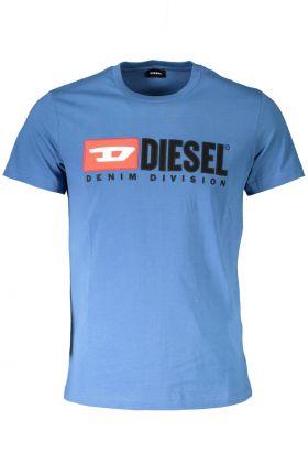 Diesel t-shirt maniche corte blu
