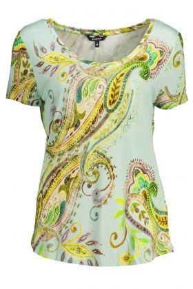 Desigual t-shirt maniche corte verde